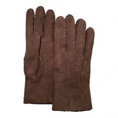 The Cold Weather Accessories Shop:  Coach Shearling Glove