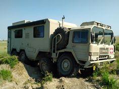 MAN 8x8 Camper Off Road