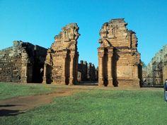 Ruinas de San Ignacio, Misiones, Argentina.