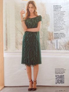 A coctail dress /  Burda PL nr 8/2015