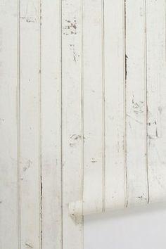 Scrapwood Wallpaper - eclectic - wallpaper - Anthropologie