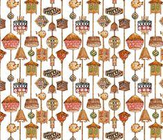 tiki_lamp_fabric__white_ fabric by eric_october on Spoonflower - custom fabric