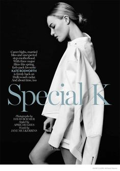 Marie Claire UK | March 2015 | Kate Bosworth by David Roemer