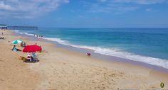 85º...warm water...& a cool breeze today...  #OBX #OuterBanks #summer2015 #vacation #summervacation #visitnc #NC #nagshead #killdevilhills #kittyhawk #beach #summertime #summer   #relax