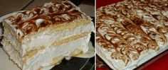 Recept Super rychlý dort bez pečení No Bake Cookies, Vanilla Cake, Nutella, Tiramisu, Cheesecake, Sweet Tooth, Food And Drink, Pie, Sweets