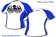 lanky fight gear rashguard blue rank