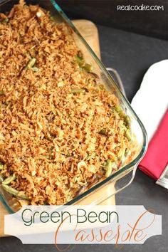 Green Bean Casserole - Whole Food Edition on MyRecipeMagic.com #casserole #green #bean