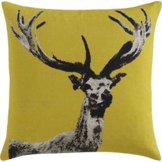 I'm on a bit of a woodsy/wild animal craze right now. I want this. Dearest Pillow-CB2