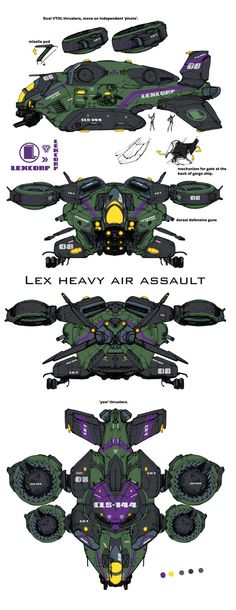 I did this a good five or six years years ago, THEN I saw AVATAR! although mind you, the idea of an enclosed rotor on VTOL swivels goes b.