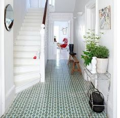 Love this inviting hall way