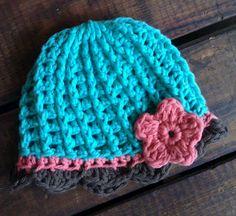 free newborn crochet hat pattern..georgia-this is the best pattern!