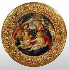 Sandro Botticelli Sandro, Italian Painters, Italian Artist, Michelangelo, Galerie Des Offices, Assumption Of Mary, La Madone, Famous Pictures, Queen Of Heaven
