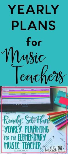 Long range / yearly plans for the elementary music teacher. Always know where you are going with your lessons by planning out your year for each grade level by concept. These yearly plans show when I prepare, present, and practice each concept and they are totally editable so that you can customize it to fit where your students are at. It includes a song list for each grade level with songs listed by concept. Perfect for a Kodaly classroom, but you do not need to be Kodaly trained to use…