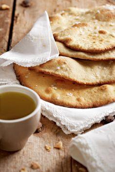 Plat pizza-brood ( Zuid afrikaans recept)