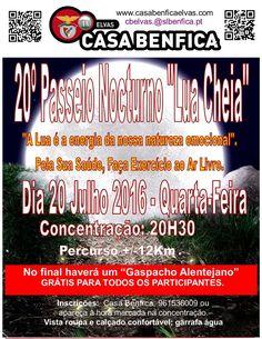 "20º Passeio Nocturno ""Lua Cheia""   Portal Elvasnews"
