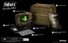 Fallout 4 Collector's Edition Comes With a Smartphone Enabled Pip-Boy