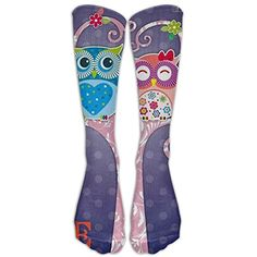 Owl Fall In LoveKnee High Graduated Compression Socks For Women And Men - Best Medical, Nursing, Travel  #MedicalSuppliesEquipment