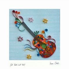 Spoon Rest, Quilling, Tableware, Artwork, Beauty, Bedspreads, Dinnerware, Work Of Art, Dishes