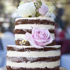 Was ist ein Naked Cake? Bolos Naked Cake, Naked Cakes, 40th Birthday Cakes, Happy Birthday, Birthday Ideas, Bolo Nacked, Bride, Cooking, Desserts