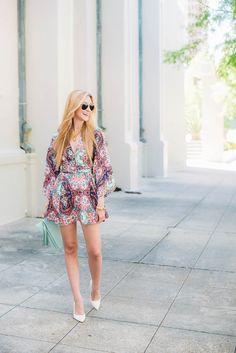 Why I'm Loving the Kimono Dress | Yumi Kim | apinchoflovely.com