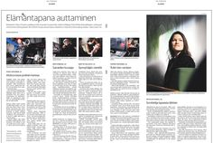 Pienperheyhdistyksen mieskaveri Osku mukana Helsingin Sanomien Torstai-sivujen vapaaehtoisjutussa 3.10.2013.