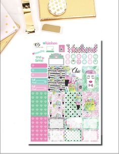 Office Chic Happy Planner Weekly Kit