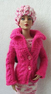 """OOAK Outfit Clothes for Tonner Tyler 16"""" Sweater GRAZYNAJ61 