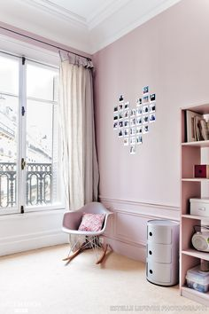 LITTLE GREENE murs DORCHESTER PINK n°213 ou CALAMINE chez F&B