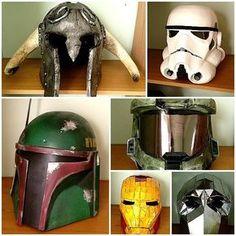 Pepakura Helmets Resources for your own Pepakura at www.PepakuraPros.com.