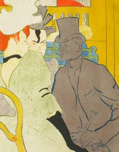 Toulouse Lautrec, The Englishman at the Moulin Rouge, 1892