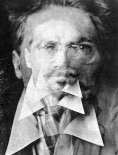 """Ezra Pound"" (1916) photo by Alvin Langdon Coburn (1882-1966)"