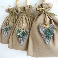 SADA - Lněné pytlíky na bylinky