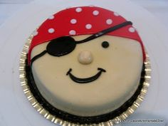 Pirate Face Cake - Veena's Art of Cakes