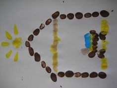 Fingerprint Nativity Craft (not sure why the picture is sideways...)