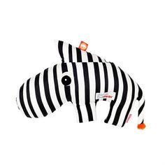 Knuffel Zebra Zebee - Zwart