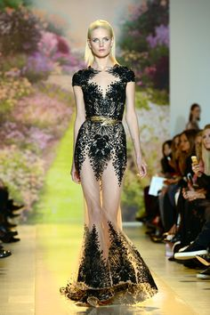 Zuhair Murad Spring Summer 2014 Haute Couture. Image: Getty.
