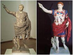 Antiche statue greche colorate08