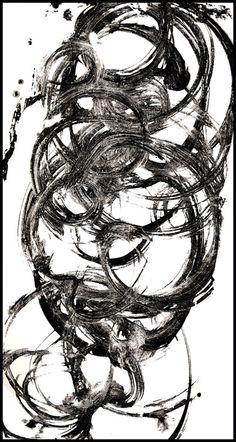 Mitra Ghaffari(Iranian, b.1959)  Essential Line #5