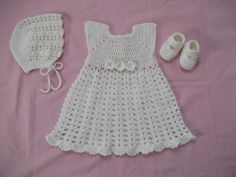 Hey, I found this really awesome Etsy listing at https://www.etsy.com/listing/177582707/crocheted-christening-gown-bonnet-and