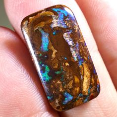 11.7CT Matrix Boulder Opal, Opalton Australia, Solid, Untreated, Unset by TheOpalGuys on Etsy