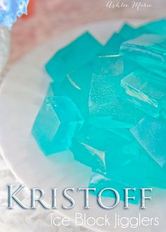 Kristoff Ice Cubes – Jello Jigglers – Frozen Party Foods