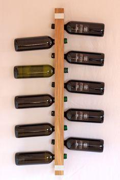 Design Weinregal aus Massivholz - Nachbauen