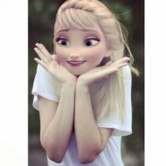 Wow elsa, she is a cute lady Disney Princess Pictures, Disney Princess Drawings, Disney Pictures, Disney Actual, Cute Disney, Disney Girls, Disney Princess Frozen, Disney Rapunzel, Elsa Frozen