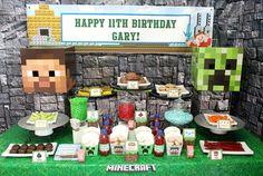 Minecraft Birthday Party Ideas http://fave.co/2e2X86j