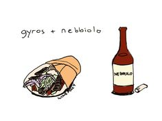 Pairing wine with Gyros and greek food http://wfol.ly/1MvOYfz