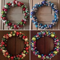 DIY wreaths!