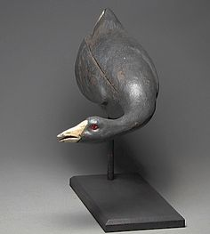 Contemporary antique american Coot, Solid white cedar body, basswood head, antique painting, glass eyes. Yves Laurent 2016