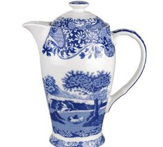 Enter to win a Spode Blue Italian 200th Anniversary Hot Beverage Pot  http://virl.io/QvsmRSow