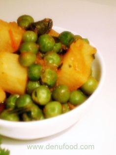 Aloo Matar (Peas & Potato)  (easy food)