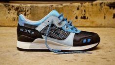 Asics Gel Lyte III Black Carolina Blue